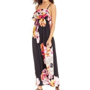 Style & Co Petite floral maxi dress
